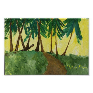 SUNNY FOREST PATH, Halima Ahkdar Posters