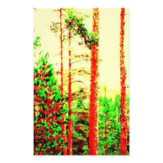 Sunny forest stationery