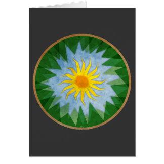 Sunny Forest Terrain Card