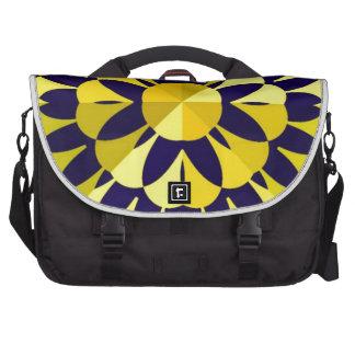Sunny Fractal Art Bag For Laptop
