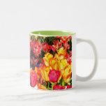 Sunny Garden Two-Tone Coffee Mug