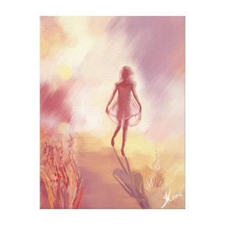 Sunny Girl Canvas Print