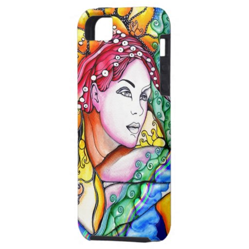 Sunny Girl iPhone 5 Cover