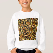 Sunny Gold Pattern Sweatshirt