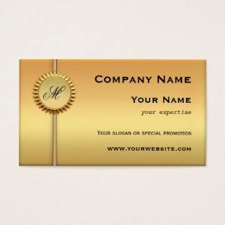 Sunny Gold Special Promotion Business Card
