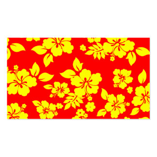 Sunny Hawaiian Business Card
