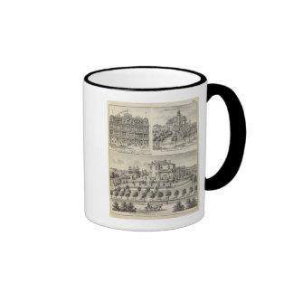 Sunny Hill res of RM Hazelett, Greencastle Ringer Mug