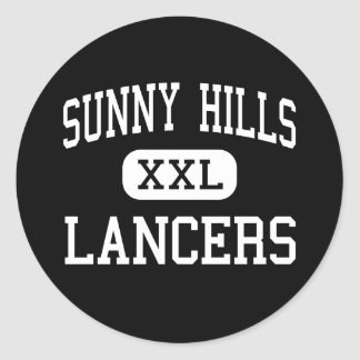 Sunny Hills - Lancers - High - Fullerton Classic Round Sticker