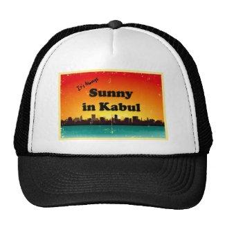 Sunny in Kabul Retro Cityscape Trucker Hat
