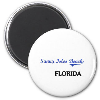 Sunny Isles Beach Florida City Classic 2 Inch Round Magnet