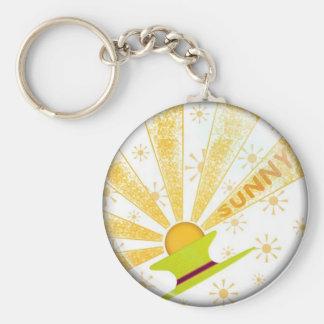 sunny keychain