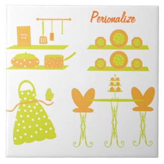 """""""Sunny Kitchen Collection"""" Ceramic Photo Tile"""