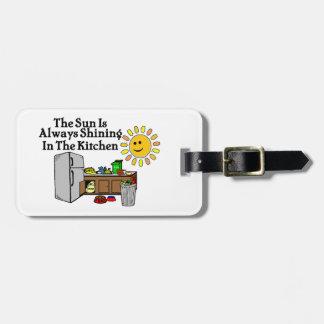 Sunny Kitchen Luggage Tag