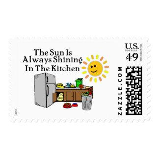 Sunny Kitchen Stamp