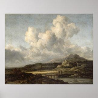 Sunny Landscape Print