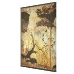 Sunny Landscape Stretched Canvas Prints
