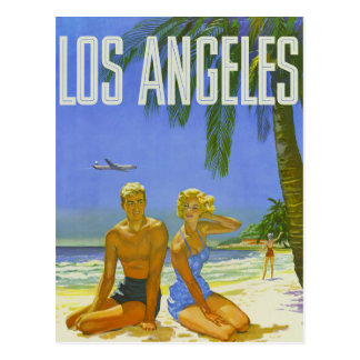 Sunny Los Angeles Greetings Postcard