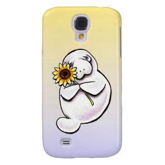 Sunny Manatee Off-Leash Art™ Samsung Galaxy S4 Case