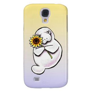 Sunny Manatee Off-Leash Art™ Samsung Galaxy S4 Cover