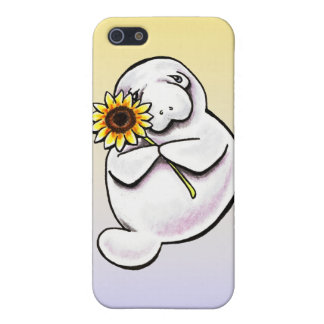 Sunny Manatee Off-Leash Art™ Case For iPhone SE/5/5s