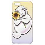 Sunny Manatee Off-Leash Art™ Cover For iPhone 5C