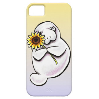 Sunny Manatee Off-Leash Art™ iPhone 5 Covers