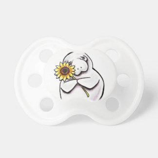 Sunny Manatee Off-Leash Art™ Pacifier