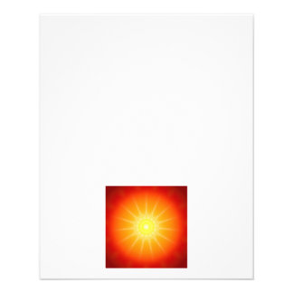 sunny mandala flyer