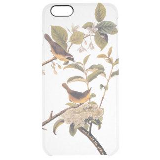 Sunny Maryland Yellowthroat Audubon Bird Pair Clear iPhone 6 Plus Case