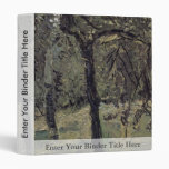 Sunny Meadow With Fruit Trees By Gerstl Richard 3 Ring Binder
