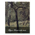 Sunny Meadow With Fruit Trees By Gerstl Richard Personalized Flyer