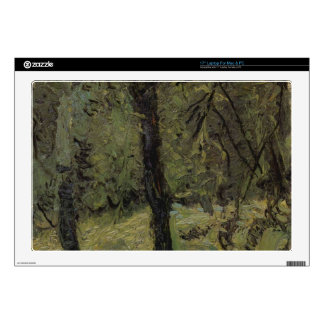 Sunny Meadow with fruit trees by Richard Gerstl Laptop Skin