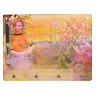 Sunny Moments Dry Erase Board With Keychain Holder