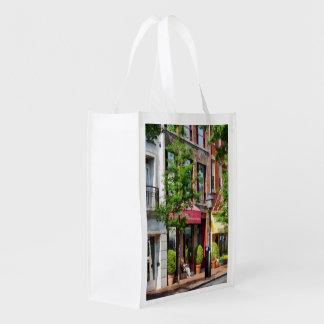 Sunny Morning Alexandria VA Reusable Grocery Bag