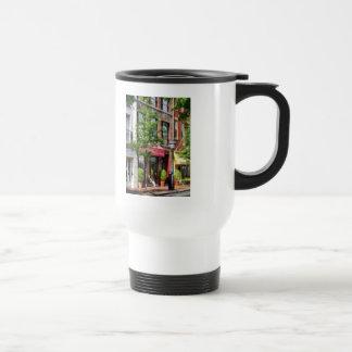 - Sunny Morning Alexandria VA Travel Mug