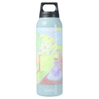 Sunny Morning Walk Insulated Water Bottle