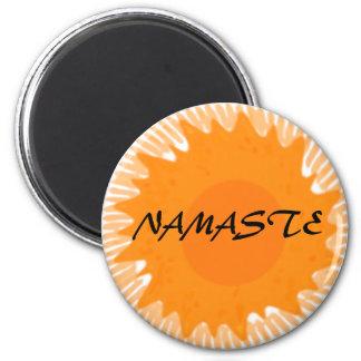 Sunny Namaste - Yoga Magnets