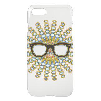 Sunny Nerd Glasses + your backgr. & ideas iPhone 7 Case