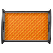 Sunny Orange Yellow  Colorful Serving Trays