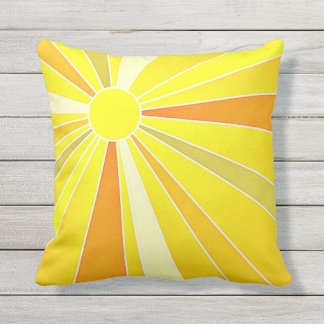 Sunny Outdoor Accent Pillow 2