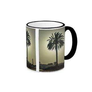 Sunny Palm Coffee Mugs