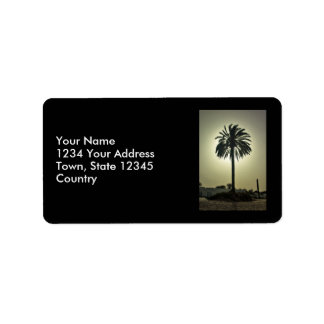 Sunny Palm Labels