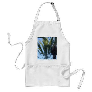 Sunny Palm Trees Adult Apron