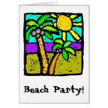 Sunny Palms Card
