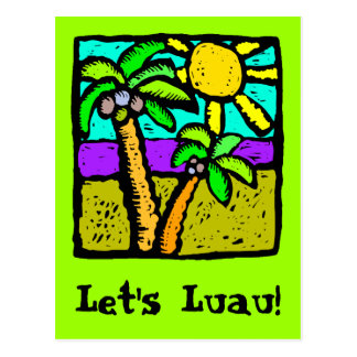 Sunny Palms Postcard
