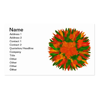 Sunny Peppers Business Card