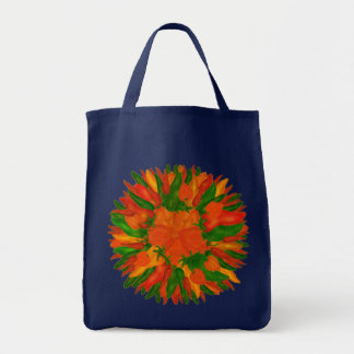 Sunny Peppers Tote Bag