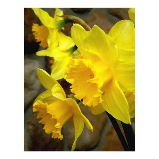 Sunny Petals Flyer
