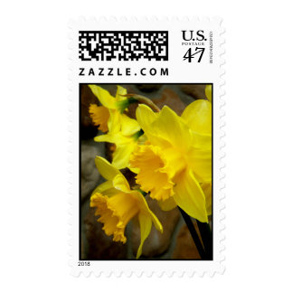 Sunny Petals Postage Stamp
