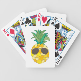 Sunny Pineapple Playing Cards